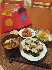 巻き寿司ディナー
