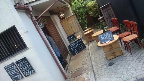 神楽坂のレストラン le-bretagne Bar a Cidre-Restaurantへ訪問