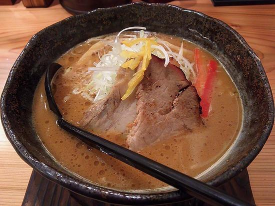 頂上味噌麺@味噌が一番
