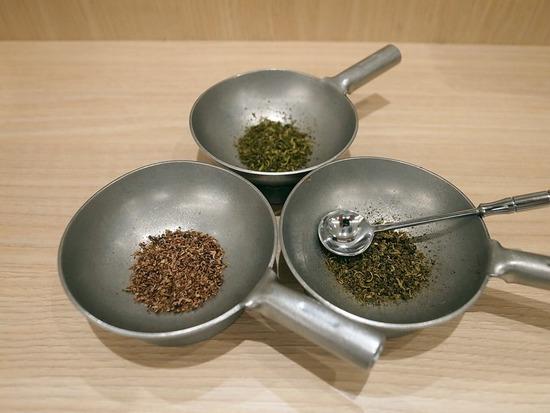 山椒三種盛り