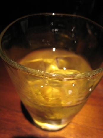 新店麺匠竹虎(新宿歌舞伎町)グラス
