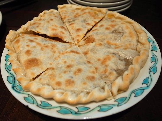 羊肉カボチャ入り薄焼き餅