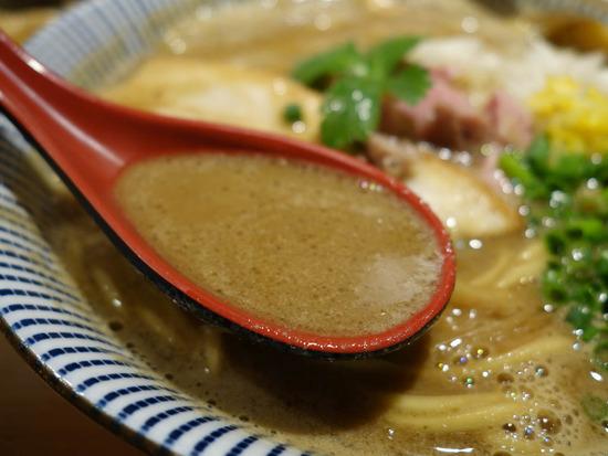 ラム&煮干スープ