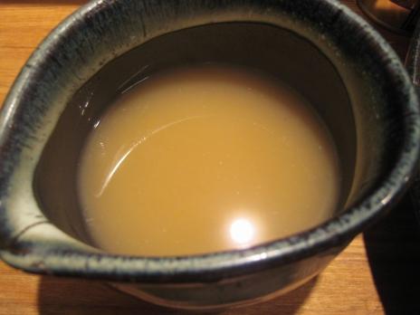 つけ麺屋やすべえ(新宿店)割りスープ
