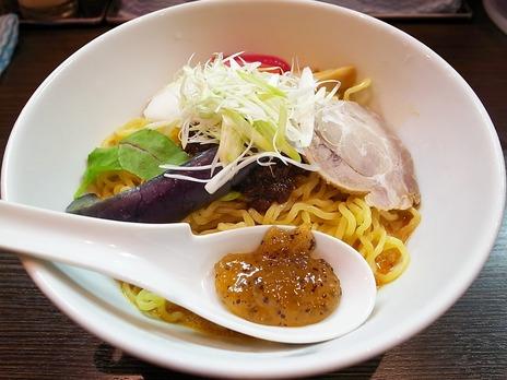 激辛冷やし担担麺(キウイソースつき)