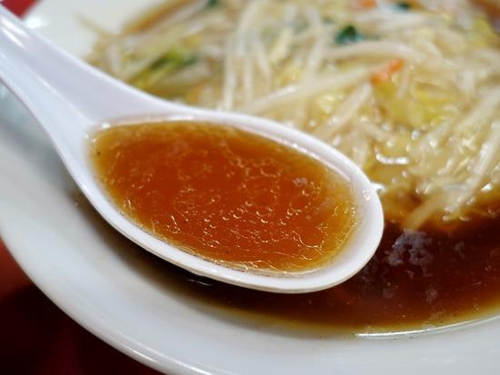 サンマーメンのスープ