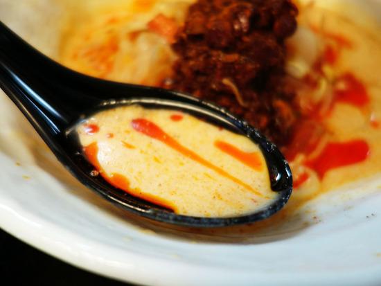 豆乳担々スープ