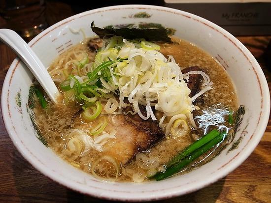 正油叉焼麺@神楽坂伊太八