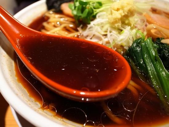 生姜の効いた幡ヶ谷我武者羅のスープ