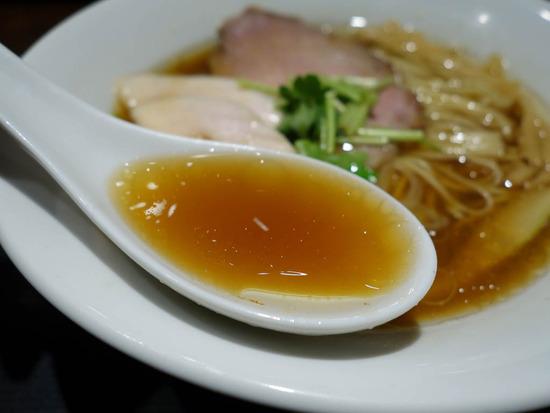 生姜の効いたスープ
