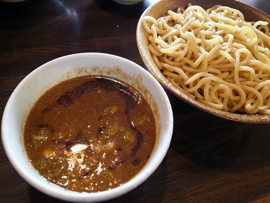 徳川膳武のつけ麺