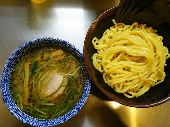 塩つけ麺@桔梗