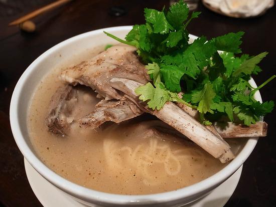 羊スペアリブ麺@月下爐