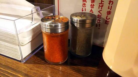 一味と胡椒