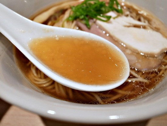 はやし田の醤油スープ