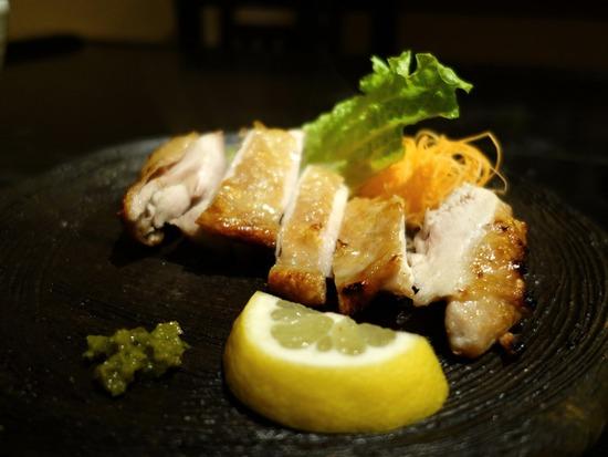 鶏の塩焼き@季織亭