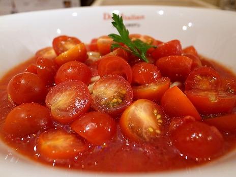冷製トマト麺@DueItalian