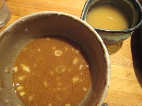 つけ麺屋やすべえ(新宿店)スープ割り