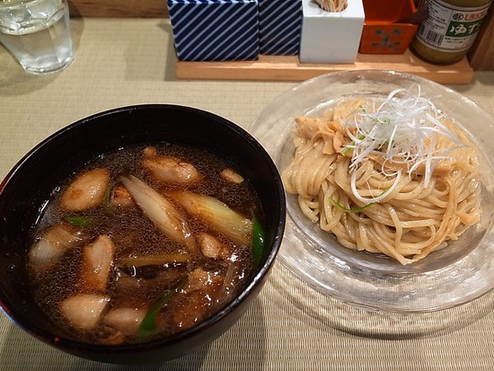 鴨のつけ麺