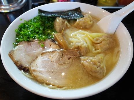 雲呑麺@三軒茶屋茂木