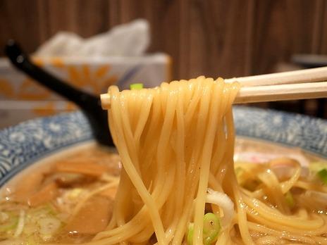 麺屋狢の中華そばの麺