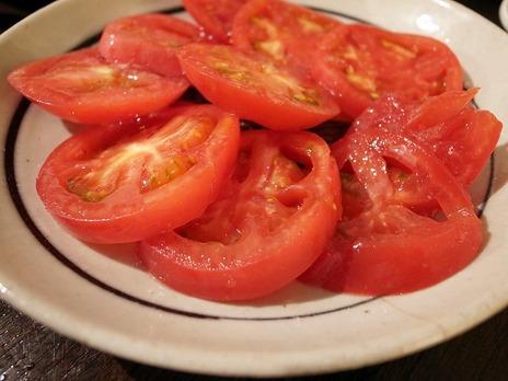 韓国風冷やしトマト@金町製麺
