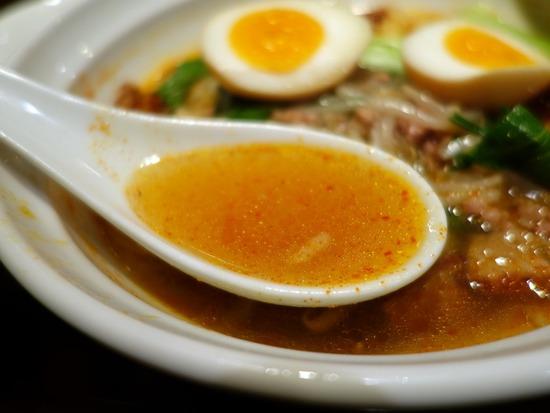 台湾ラーメンのスープ