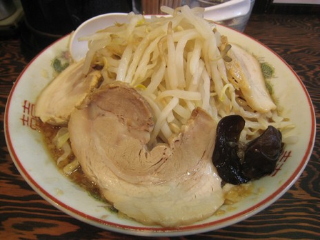 ぽっぽっ屋(湯島店)らーめん+チャーシュー