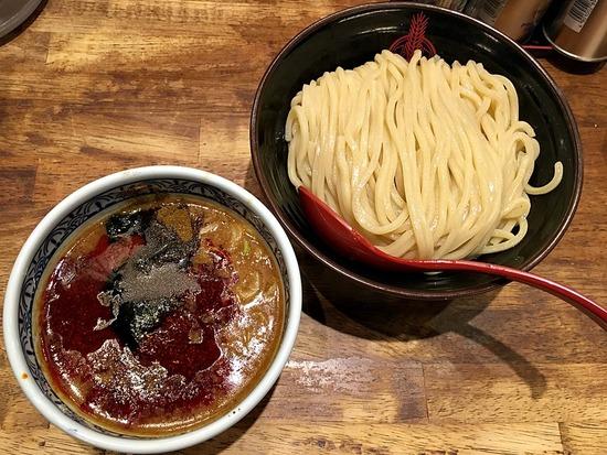 灼熱つけ麺@三田製麺所