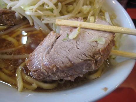 ラーメン二郎仙川店(京王線-仙川)チャーシュー