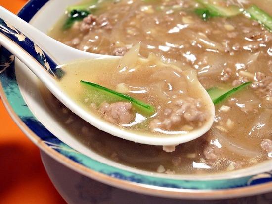 加里麺のスープ2