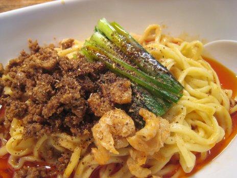 四川坦坦麺阿吽(湯島)つゆ無し坦坦麺3
