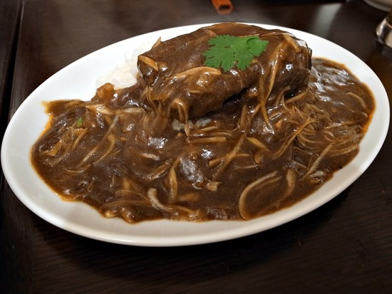 上海角煮カレー
