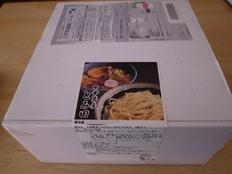 中華蕎麦とみ田(楽天通販)箱