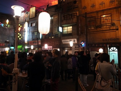 新横浜ラーメン博物館内の様子