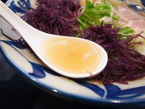 神田磯野の塩ラーメンスープ