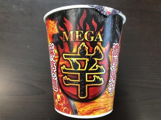 エースコック MEGA辛 濃厚鬼辛麻婆麺