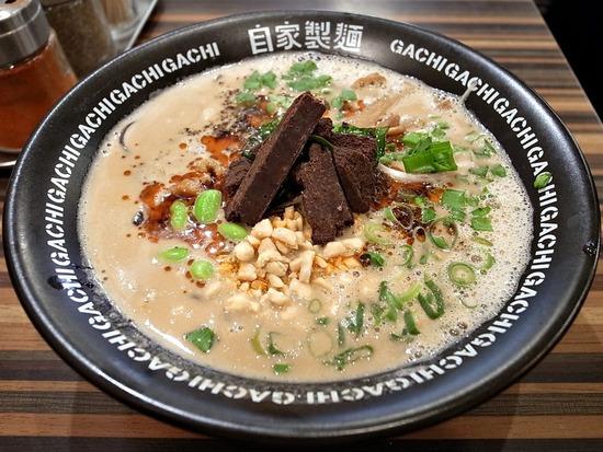 チョコ担々麺@GACHI