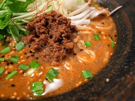 四川麺条香氣の担担麺
