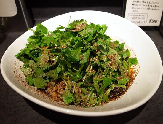 汁なし担担麺+パクチーW@タンタンタイガー