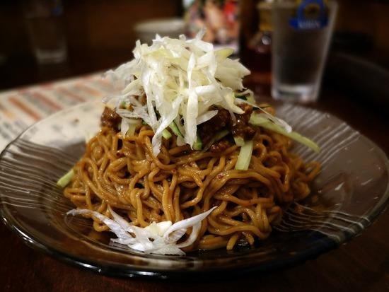 汁なし九龍麺