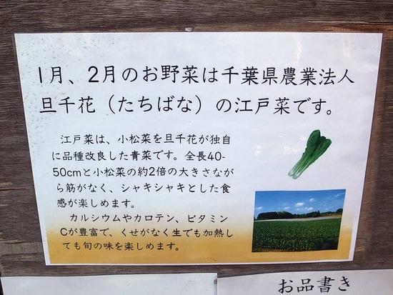江戸菜の案内