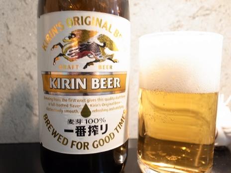 ビールは一番搾り