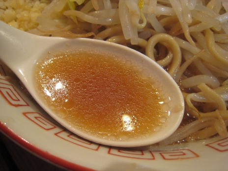 新店らーめん大二郎(秋葉原)スープ