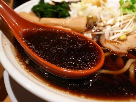 生姜の効いたスープ@どっかん