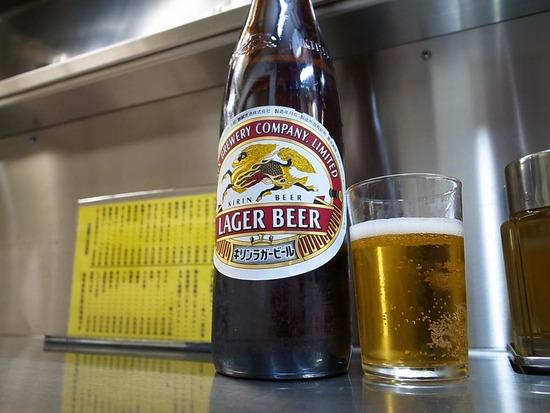 瓶ビール(大瓶)はキリンラガー