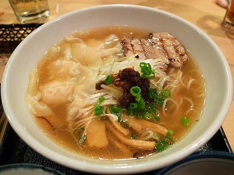 鶏海老雲呑麺@ふぅふぅ亭
