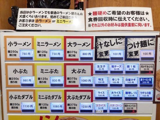 ラーメン豚山上野店