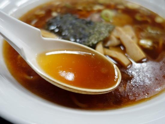 中本の醤油スープ