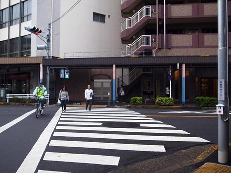 新中野駅近く